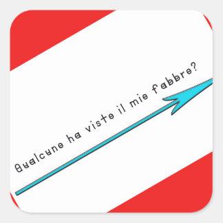 Italien-Forgeron Sticker Carré
