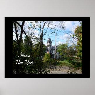 ITHACA, NEW YORK, SIX affiches de CRIQUE de MILLE Poster