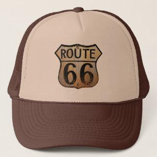Itinéraire 66 - Casquette noir et bronzage de