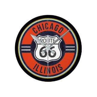 ITINÉRAIRE 66 CHICAGO - horloge