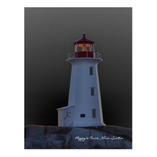 Itinéraire la Nouvelle-Écosse de phare de la Carte Postale