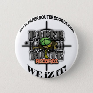 Itinéraire Recordz - nous de livre blanc iZ il ! Badge Rond 5 Cm