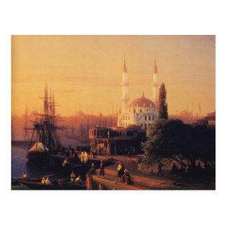 Ivan Aivazovsky- Constantinople Carte Postale