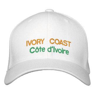 Ivoorkust - Ivoorkust Geborduurd Pet Petten 0