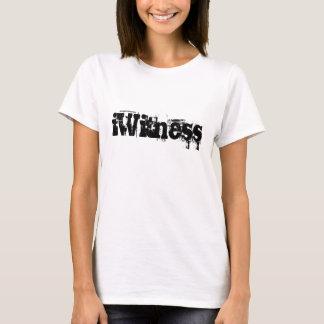 iWitness - T-shirt chrétien. 66:16 de psaume