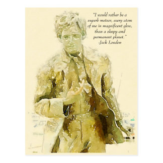 Jack London Carte Postale
