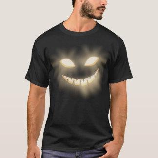 Jack-o'-lantern éffrayant font face au T-shirt