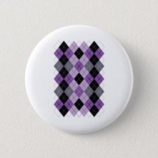Jacquard pourpre badge rond 5 cm