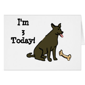 J'ai 3 ans poursuis aujourd'hui la carte de fête d