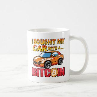 J'ai acheté ma voiture avec un Bitcoin Mug