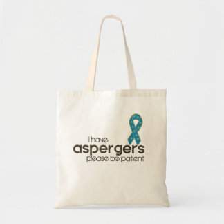 J'ai Aspergers Sac En Toile Budget