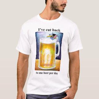 J'ai coupé de nouveau à une bière par jour t-shirt