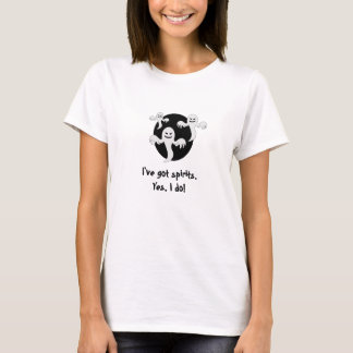 """""""J'ai des spiritueux.  Oui, je fais !""""  Le T-shirt"""