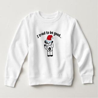 J'ai essayé d'être bon T-shirt d'enfant en bas âge