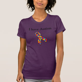 J'ai l'autisme - affaire avec lui t-shirt