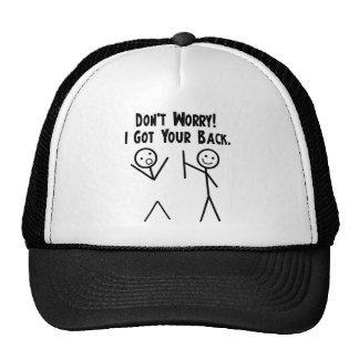 J'ai obtenu votre dos ! casquette de camionneur