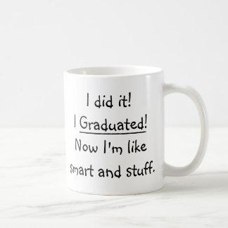 J'ai reçu un diplôme la citation drôle de jour de mug