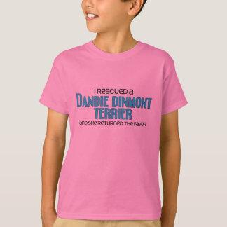 J'ai secouru un Dandie Dinmont Terrier (le chien T-shirt