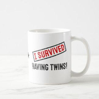 J'ai survécu ayant des jumeaux ! Tasse
