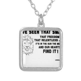 J'ai vu que grande citation de sourire collier