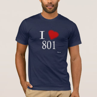 J'aime 801 Salt Lake City T-shirt