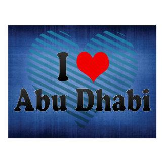 J'aime Abu Dhabi, Emirats Arabes Unis Carte Postale