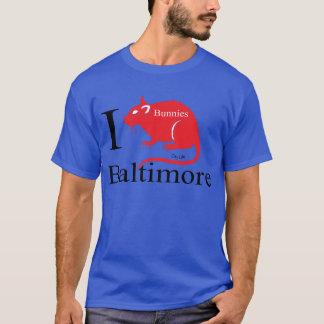 J'aime Baltimore, lapins T-shirt