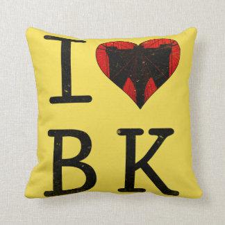 J'aime Brooklyn, coussin de BK New York
