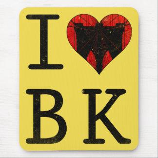 J'aime Brooklyn, tapis de souris de BK New York