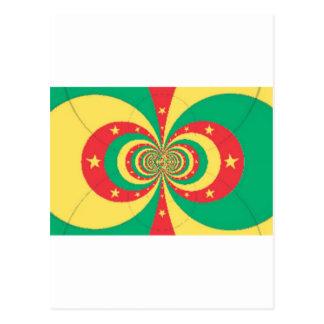 J'aime Cameroun Carte Postale