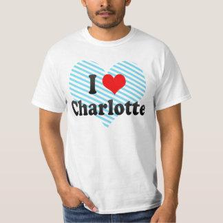 J'aime Charlotte, Etats-Unis T-shirt