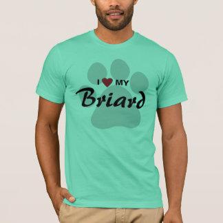 J'aime (coeur) ma chemise d'amoureux de les chiens t-shirt