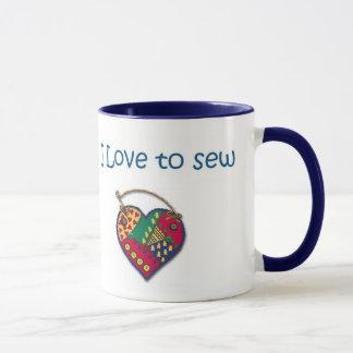 J'aime coudre mug