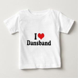 J'aime Dansband T-shirt Pour Bébé