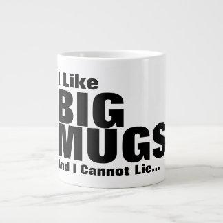 J'aime de grandes tasses et je ne peux pas me