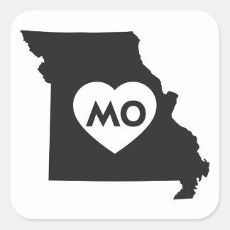J'aime des autocollants d'état du Missouri