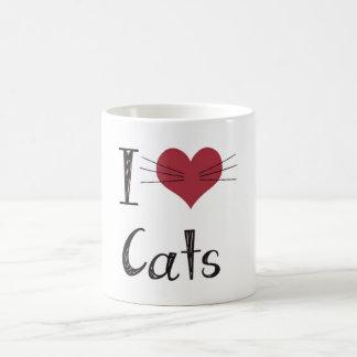 J'aime des chats mug