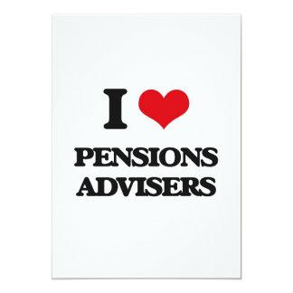 J'aime des conseillers de pensions invitations