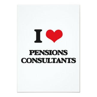 J'aime des consultants en matière de pensions invitation personnalisée