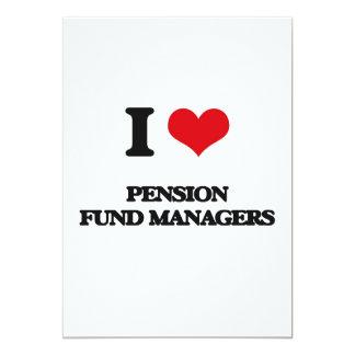 J'aime des directeurs de fonds de pension invitations personnalisées
