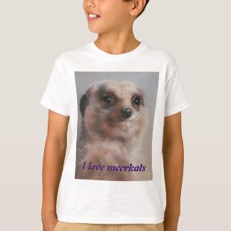 J'aime des meerkats t-shirt