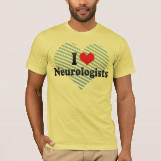 J'aime des neurologues t-shirt