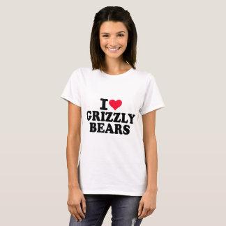 J'aime des ours gris t-shirt