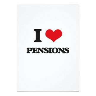 J'aime des pensions invitations personnalisables