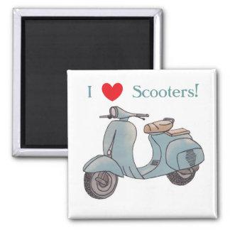 J'aime des scooters ! Aimant