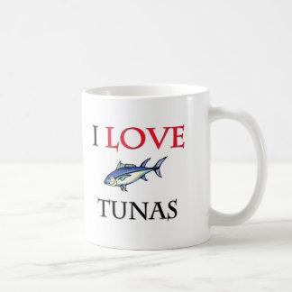 J'aime des thons mug blanc