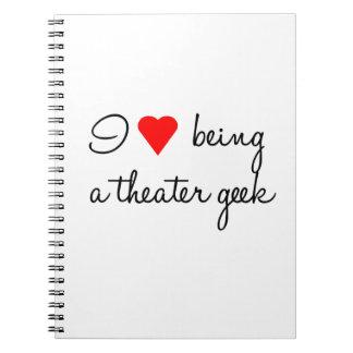 J'aime être un carnet de geek de théâtre