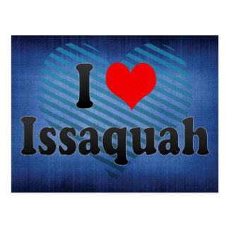 J'aime Issaquah, Etats-Unis Carte Postale