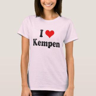 J'aime Kempen, Allemagne. Ich Liebe Kempen, T-shirt