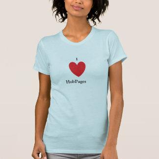J'aime la chemise de HubPages T-shirt